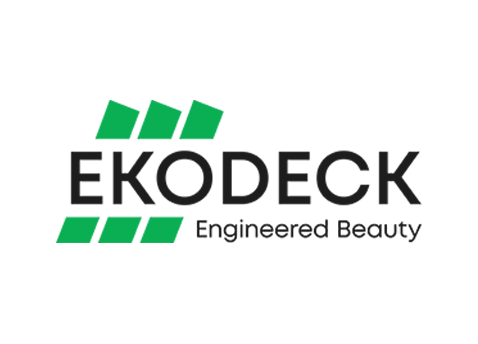 ekodeck logo - one of our shipping containers clients