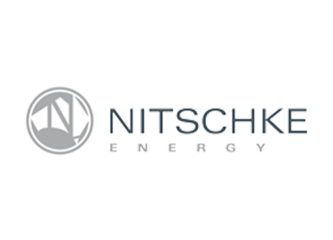 nitschke energy logo - one of our shipping containers clients