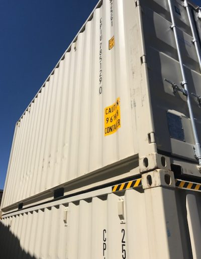 2 New 20ft High Shipping container storage units