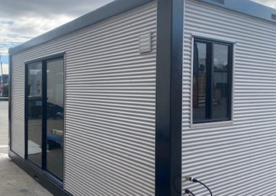 20ft 5G protected unit with Colorbond exterior for extra living space or granny flat