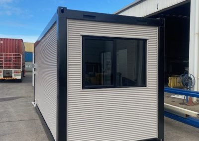 Container conversion to guest room or extra accommodation for Airbnb