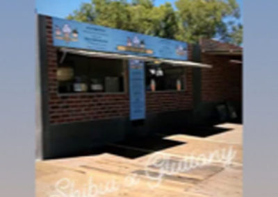 Filliino Project 20ft Container conversion to fully kitchen and BBQ preparatino area for Adelaide Fringe