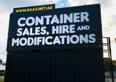 G.A.A.S Shipping Container Sales Hire and Modifications Wingfield South Australia deliverying nationally