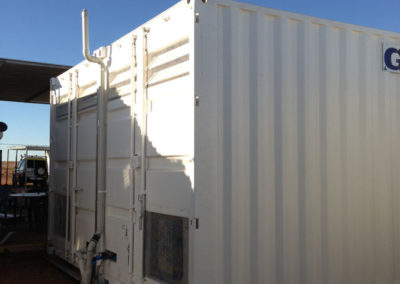 GDY Kitchen container conversion