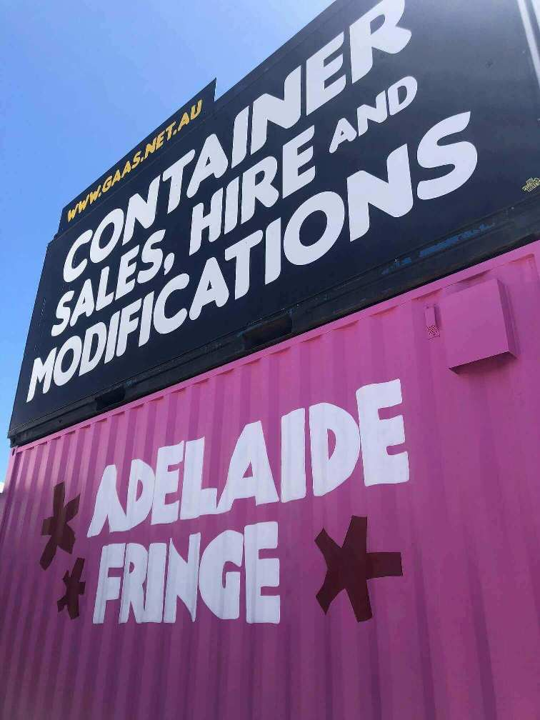 Adelaide Fringe - Containers for Festival Hire