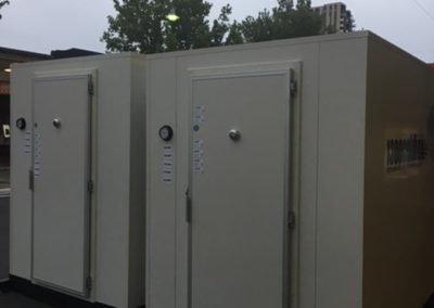 2 new Coolroom permanently installed in Supermarket store room in Frewville