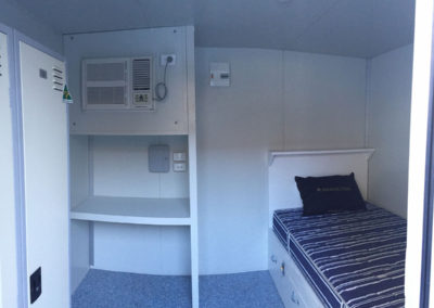 Shipping container bedrooms & ablution units