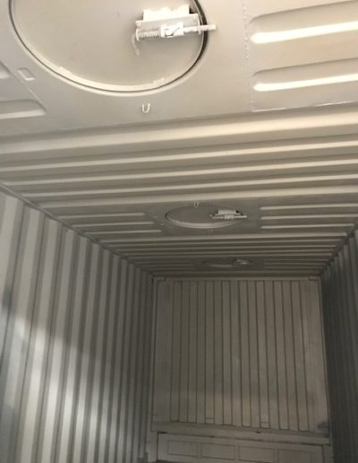 Inside of a 20ft Bulker Container