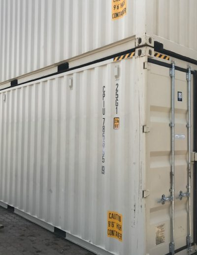 One Off 20ft High Cube Containers