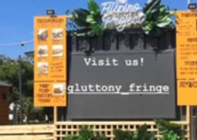 Stunning Container conversion for Adelaide fringe includes full commercial kitchen