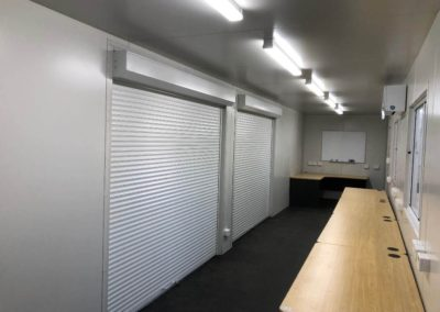 EXACT Contracting 20ft mobile container office internal