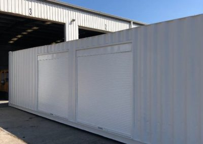 EXACT Contracting 40ft container conversion to office