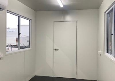G.A.A.S fabrication of office and ablution block for farm in outback regional South Australia