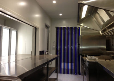 GST commercial kitchen for prep, cooking and serving workers in the outback
