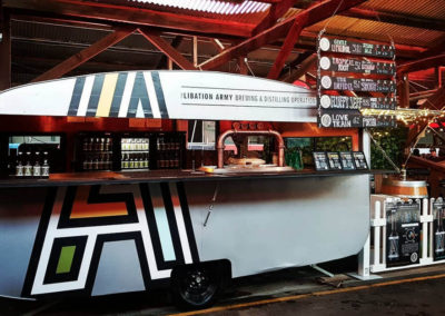 Libation Army Brewery using GAAS's shipping container modifications